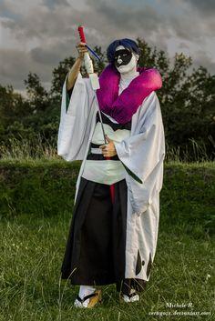 Mayuri Kurotsuchi from Bleach