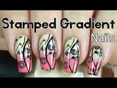 Stamped Gradient Nail Art blog post: http://lucysstash.com/2014/09/stamped-gradient-nail-art-with-video-tutorial.html Products used: OPI You're So Vain-illa ...