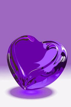 Purple Heart ura Corazon purpuraaa Kalp – feryal ileri – Join the world of pin Purple Love, Purple Hues, All Things Purple, Shades Of Purple, Pink Purple, Purple Hearts, Heart Wallpaper, Purple Wallpaper, Love Wallpaper