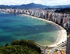 Praia Cantral de Balneário Camboriú