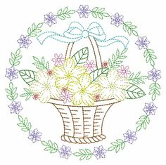 Vintage Embroidery, Custom Embroidery, Embroidery Thread, Machine Embroidery Designs, Embroidery Patterns, Christmas Swags, Applique Quilts, Sewing Hacks, Vintage Floral