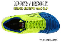 A top down view of the new Reebok Nano 3.0. This is one of the 16ef4fc80
