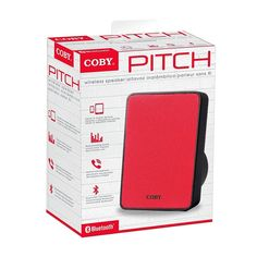 Coby CSBT-318-RED Pitch Portable Bluetooth Speaker, Red | Consumer Electronics, Portable Audio & Headphones, iPod, Audio Player Accessories | eBay!