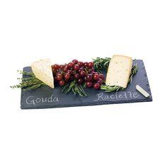 Slate Cheese Board & Chalk Set | dotandbo.com   #DotandBoDream