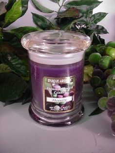 8 oz Status Jar Muscadine Scented Candle. Burn up to 95 hours. Unique Gel Candle made with premium grade fragrance oil and non-lead wicks . The little grapefruit inserts are actually wax pieces and will burn all the way through. This candle is made in the USA.