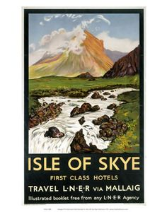 Isle of Skye  First Class Hotels by LNER and Mallaig