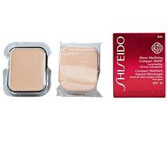 ShiseidoSheer Matifying Foundation Refill B40 Natural Fair Beige 34 Oz >>> Click image for more details. (Note:Amazon affiliate link)