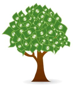 turn s out money does grow on trees beauty beautiful rh pinterest co uk Funny Money Clip Art People with Money Clip Art