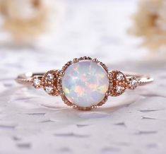 Check this pear shaped diamond engagement ring set. Hand-tailored to perfection, this halo engagement ring set features an intricately white gold ring with a substantial natural conflict free diamond focal that has been set in a custom-made decorative Opal Jewelry, Diamond Jewelry, Jewelry Rings, Fine Jewelry, Diamond Earrings, Silver Jewelry, Jewelry Ideas, Jewelry Making, Birthstone Jewelry