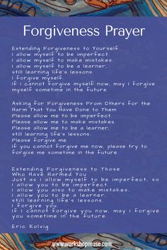 forgiveness therapy on depression anxiety and Forgiveness helps us break through the thought patterns which create fear, anxiety, depression and panic practising forgiveness helps flood our system with positive, life enhancing feelings these positive feelings and the associated hormones make it easier to see and enjoy the good things in life.