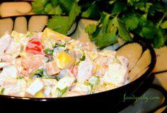 Gluten-Free Chicken Mango Salad! A Unique Twist On The Normal Chicken And Grape Chicken Salad...Yum!