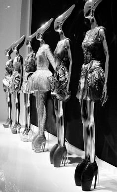 Alexander McQueen; Savage Beauty at the V&A Museum, London // my favorite things were THESE SHOES <3