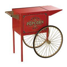 vintage popcorn  | Benchmark USA ( 30010 ) - Antique Street Vendor Popcorn Trolley