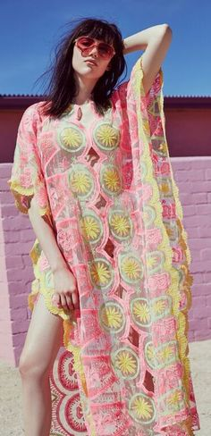 boho billowy caftan
