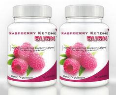 Raspberry Ketone Burn (2 Bottles) - Highly Concentrated Raspberry Ketones Fat Burning Supplement. The Top Rated... $29.95