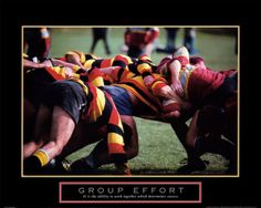 Group Effort Rugby Art Poster Print 28 X 22 for sale online Video Games List, Video Games For Kids, Kids Videos, Rugby Poster, Teamwork Poster, Rugby Players, Sport Photography, Motivational Posters, Sport Man