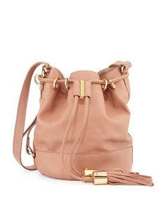 Vicki Vachetta Bucket Bag, Nougat by See by Chloe at Neiman Marcus.
