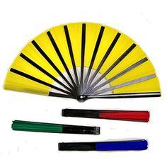 Manipulation Fans (four pack / four colors) by Po Cheng Lai - Trick