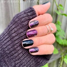 Fall Manicure, Manicure Colors, Manicure And Pedicure, Manicure Ideas, Pedicures, Diy Nails, Nail Color Combos, Fall Nail Colors, Plum Nails