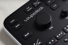Newly fashionable hardware controls aim to speed up Lightroom     - CNET  Enlarge Image  The Loupedeck is scheduled to ship in June 2017.                                             Loupedeck                                          A group of former Nokia employees thinks it has a better way for you to edit photos: Loupedeck a hardware console with sliders knobs and switches dedicated to Adobe Systems Lightroom software.  Lightroom has a wide range of on-screen controls for photo-editing…