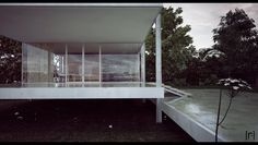 Farnsworth House Final 6 by the-f-render.deviantart.com on @deviantART