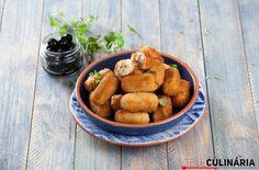 Croquetes de bacalhau