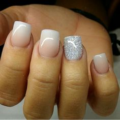 Wedding Nails Acrylic Style 28 Ideas For 2019 Fancy Nails, Love Nails, How To Do Nails, Fabulous Nails, Gorgeous Nails, Pretty Nails, Prom Nails, Wedding Nails, Shellac Nails