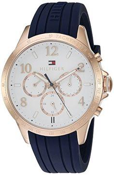 Tommy Hilfiger Women's 1781645 Dani Analog Display Japanese Quartz Blue Watch - http://shopping4you.xyz/2016/06/08/tommy-hilfiger-womens-1781645-dani-analog-display-japanese-quartz-blue-watch/