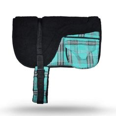 Kensington Protective Products Fleece Bare Back Pad with Pockets Black Ice - KPBB2013