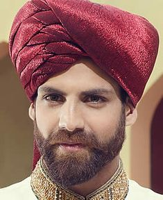 Scrumptious Jamawar Turban for Groom Paramus New Jersey NJ USA Reception Turban