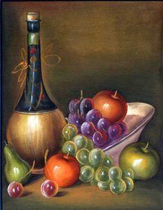 Trendy Fruit Illustration Watercolour Still Life Painting Still Life, Still Life Art, Pastel Drawing, Pastel Art, Image Fruit, Fruit Illustration, Fruit Photography, Fruit Painting, Wine Art