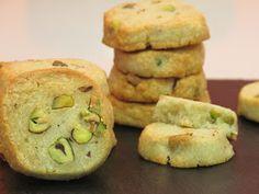 Mi mesa para tres: Galletas de gorgonzola y pistachos