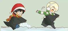 Snowball fightttt!