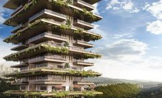 Arbia Tower, a project by SMA, is designed to be a vertical continuum of the surrounding landscape, creating a iconic tower with the presence of large sky gardens with small and medium-sized trees at each level. Cigar Room, Multipurpose Room, Sliding Windows, Sky Garden, Private Garden, Common Area, Residential Architecture, Great View, Hostel