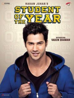 First Look: Introducing Varun Dhawan in Student of the year . Bollywood Actors, Bollywood Celebrities, Bollywood Images, Varun Dhawan Movies, Varun Dhawan Wallpaper, Varun Dhawan Photos, Photos Free, Student Of The Year, Indian Boy