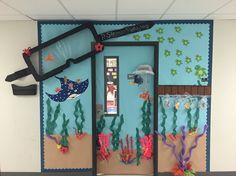 Finding Nemo classroom door