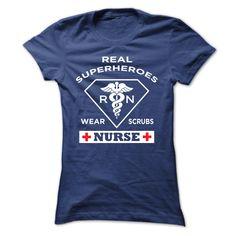 Real Superheroes Wear Scrubs - Real Superheroes Wear Scrubs #Nurse #Nurseshirts #iloveNurse # tshirts