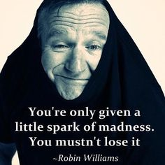 #RobinWilliams would have been 64 years old today. Rest in peace, oh Captain my Captain.