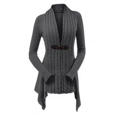 Dropshipping Women's Clothing, wir versenden für Sie | Chinabrands.com Cardigan Vintage, Cardigan Casual, Cardigan Style, Cardigan Kimono, Cable Knit Cardigan, Black Cardigan, Long Cardigan, Cable Knit Sweaters, Cardigan Fashion