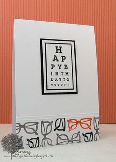 Eye chart idea