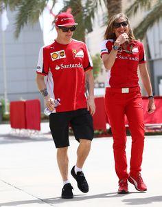 #Kimi #KimiRaikkonen #Raikkonen #iceman #scuderiaferrari #bahgp #redseason #BahrainGp #F1 (saturday; 04 18,2015) pic014
