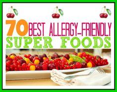 70 Best Allergy-Free Super Foods
