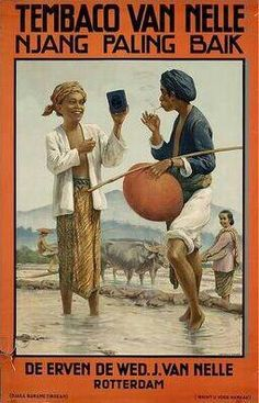 Indonesia ~ vintage poster ~ Tembacoo