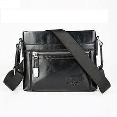 GENUINE LEATHER Leisure Men s Business Bag Item Type  Handbags Exterior   Solid Bag Number of 9724261520