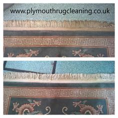 cleaning fringes on rugs in Plymouth  www.plymouthrugcleaning.co.uk
