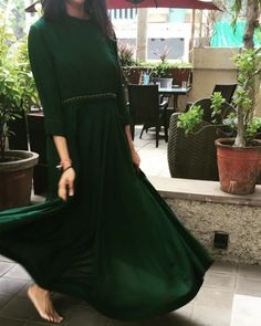 Olive green floor length dress with out box pleats, a signature style from Moh! Grab yours one now!   #Style #CottonisCool #MinistryofTextiles #SmritiIrani #Khadi #KVCI #FDCI #TextilesIndia2017 #khadiisnotboring #madeinindia #longdress #floorlength #Aline #cut #summer #summerwear #cotton #offwhite #white #organic #summerevening #anarkali #summrdresses #occasions #instafashion #customization #madetoorder #colour #organic #cream #motif #occasions #designer #fashion #indianwear…