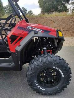 New 2017 Polaris RZR S 570 EPS Indy red ATVs For Sale in North Carolina. 2017 Polaris RZR S 570 EPS Indy red, 2017 Polaris® RZR® S 570 EPS Indy red Your entry into the sport category, with legendary RZR® S ride and handling. Features may include: AGILITY FEATURES HIGH PERFORMANCE TRUE ON-DEMAND ALL-WHEEL DRIVE The High Performance True On-Demand All-Wheel Drive System features a close ratio final drive to keep the front wheels pulling stronger and longer maximizing power delivery to the…