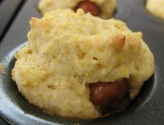 The Gluten Free Budget Crunch: Mini Corn Dog Muffins