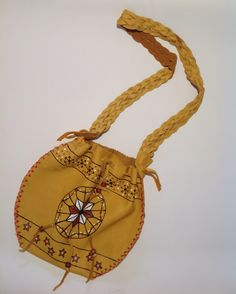 All wapiti handmade bag. 9 x 9 inches. Handmade Bags, Quebec, Moccasins, Saddle Bags, Nativity, Dream Catcher, Etsy Seller, Boutique, Trending Outfits