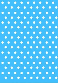 polka dot papers blue